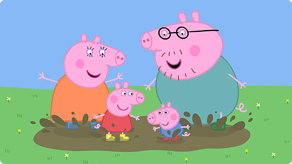 Watch Peppa Pig episodes in English- English subtitles